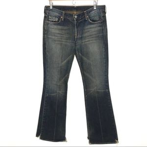 7 For All Mankind Jerome Dahan 30 Flare Boot Jeans